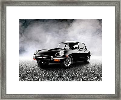 The 68 E Type Framed Print by Mark Rogan