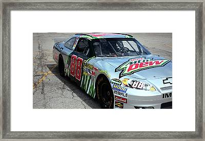 The 88 Dale Earnhardt Jr Framed Print by R A W M