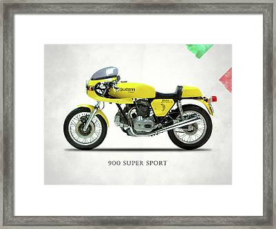 The 900 Super Sport 1977 Framed Print