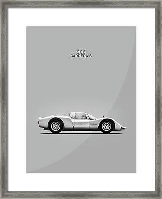 The 906 Carrera 6 Framed Print by Mark Rogan