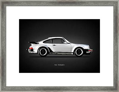 The 911 Turbo 1984 Framed Print by Mark Rogan
