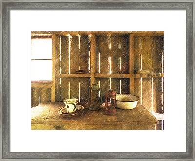 The Abandoned Cabin Framed Print