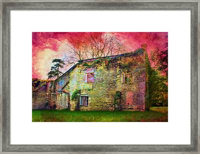 The Abandoned House. Framed Print by ShabbyChic fine art Photography