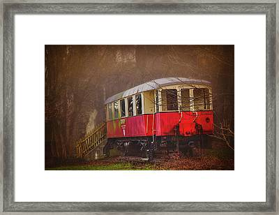 The Abandoned Tram In Salzburg Austria  Framed Print