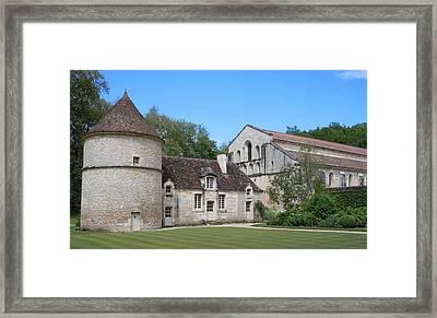 The Abbey De Fontenay Framed Print by Marilyn Dunlap