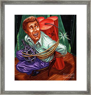 The Abduction Framed Print by Michael Seleznev
