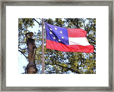The Aberdeen Confederate Memorial Framed Print by JC Findley