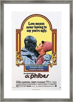 The Abominable Dr. Phibes  Framed Print