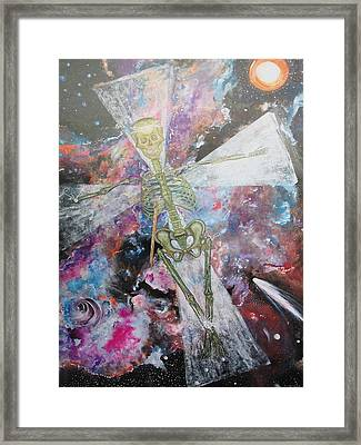 The Absolute Dearth Of Christianity Framed Print by Contemporary Michael Angelo