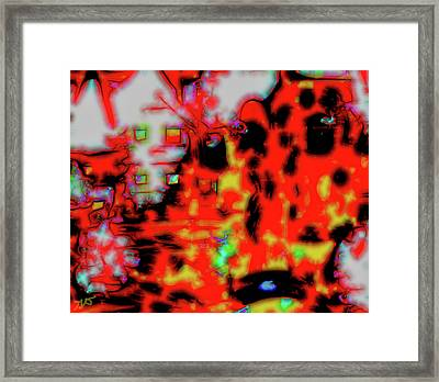 The Abstract Bridge Framed Print