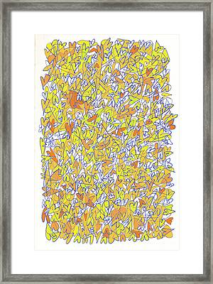 The Abundant Heart Framed Print by Linda Kay Thomas