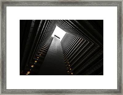 The Abyss, Hong Kong Framed Print by Reinier Snijders
