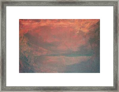 The Abyss Framed Print by Peta Mccabe