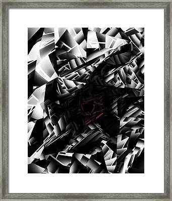 The Abyss Framed Print by Vic Eberly