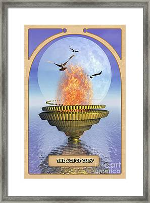 The Ace Of Cups Framed Print by John Edwards