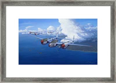 The Ace Framed Print by Steven Heyen
