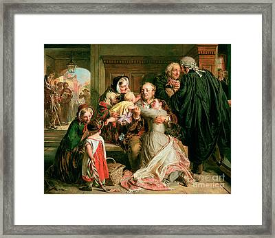 The Acquittal Framed Print by Abraham Solomon