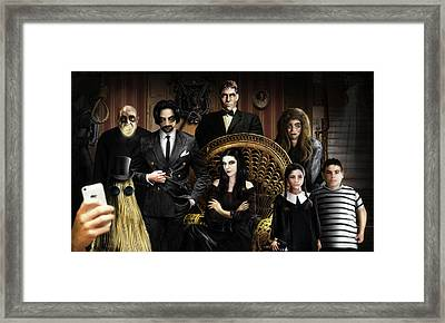 The Addams Family Framed Print