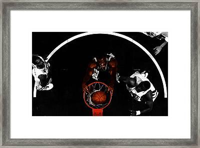 The Admiral David Robinson Framed Print