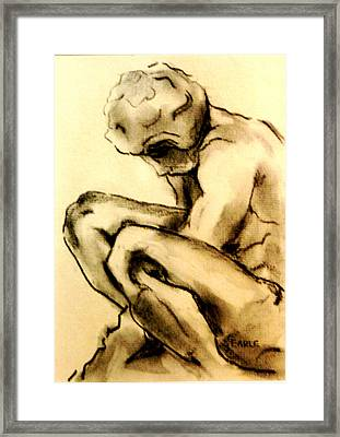 The Adolescent  Framed Print by Dan Earle