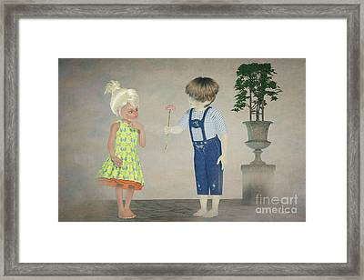 The Adorer Framed Print by Jutta Maria Pusl