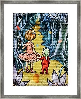 The Adventurers Framed Print by Baird Hoffmire