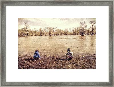The Adventurers Framed Print by Jim Cook