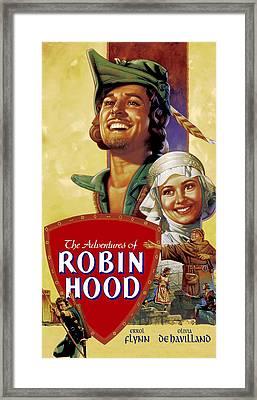 The Adventures Of Robin Hood, Errol Framed Print