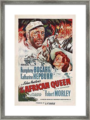 The African Queen B Framed Print