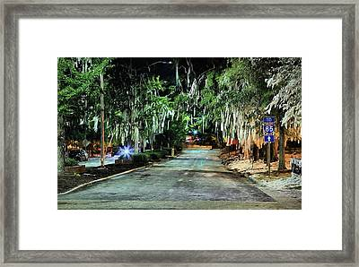 The After Party Framed Print by JC Findley