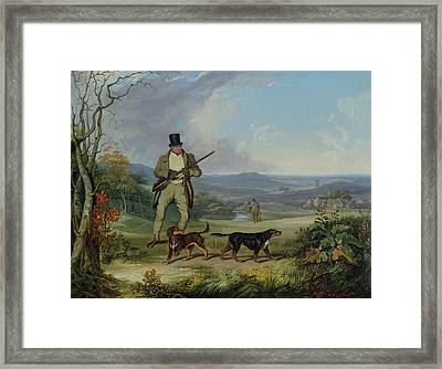 The Afternoon Shoot   Framed Print by Philip Reinagle