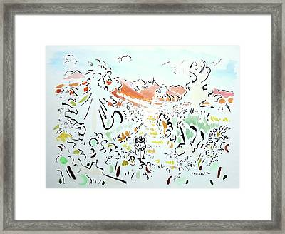 The Afternoon Walk Framed Print