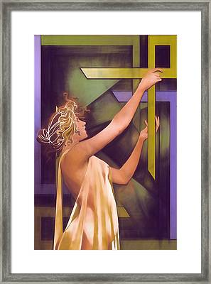 The Age Of Art Deco Framed Print