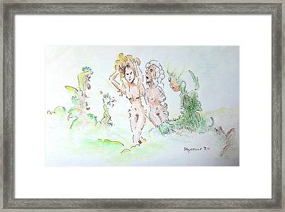 The Age Of Beauty Framed Print