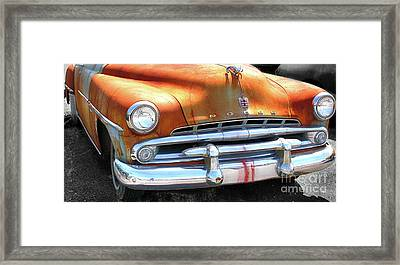 The Age Of Dodge  Framed Print by Steven Digman