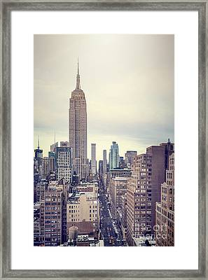 The Age Of The Empire Framed Print by Evelina Kremsdorf