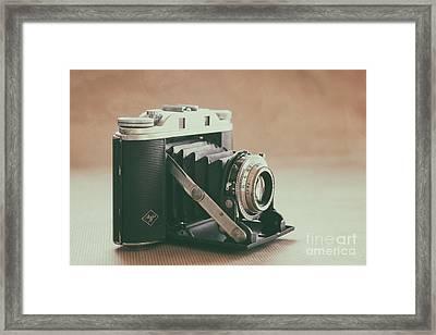 Framed Print featuring the photograph The Agfa by Ana V Ramirez