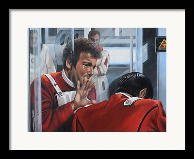 The Wrath Of Khan Framed Prints