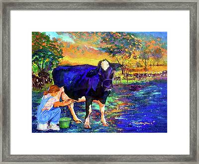 The Agronomist Framed Print by Estela Robles