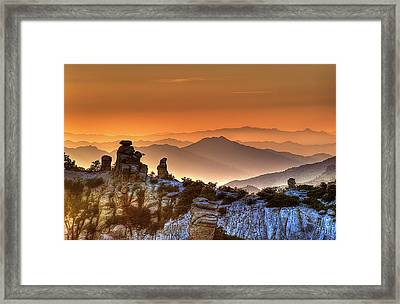 The Ahh Moment Framed Print