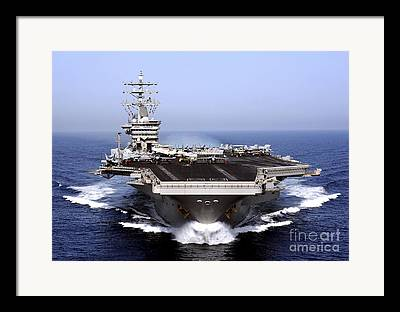 Navy Photographs Framed Prints