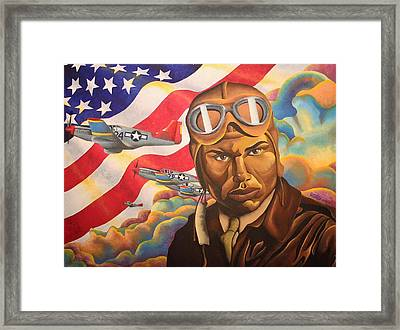 The Airman Framed Print by William Roby