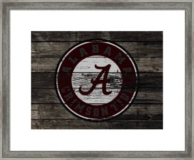 The Alabama Crimson Tide 3a             Framed Print by Brian Reaves
