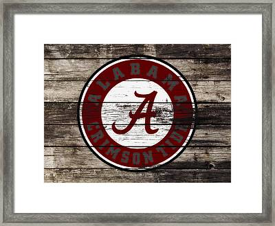 The Alabama Crimson Tide 3b             Framed Print by Brian Reaves