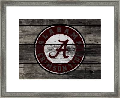 The Alabama Crimson Tide 3c             Framed Print