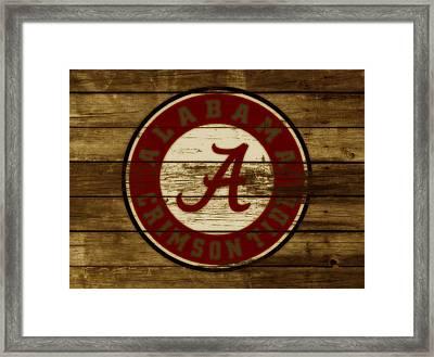 The Alabama Crimson Tide Framed Print