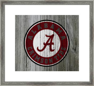 The Alabama Crimson Tide C1             Framed Print by Brian Reaves