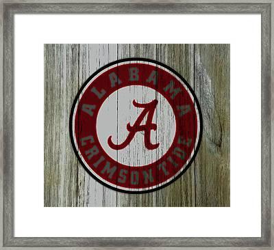 The Alabama Crimson Tide C2             Framed Print