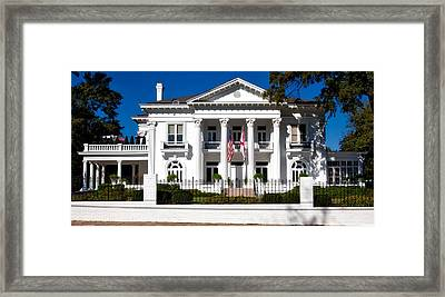 The Alabama Governor's Mansion Framed Print by Mountain Dreams