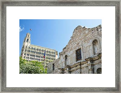 The Alamo In San Antonio Framed Print by Gregory Ballos